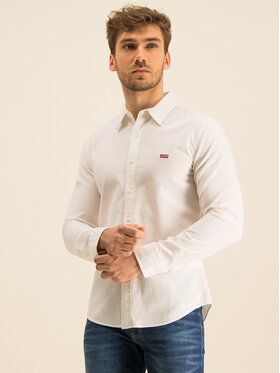 Levi's® Levi's® Camicia Long Sleeved Shirt 86625-0002 Bianco Slim Fit