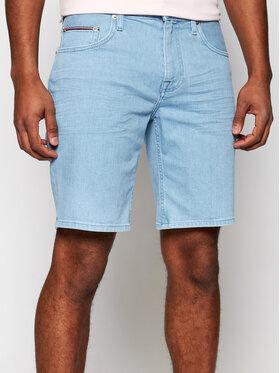 Tommy Hilfiger Tommy Hilfiger Szorty jeansowe Brooklyn MW0MW18031 Niebieski Regular Fit