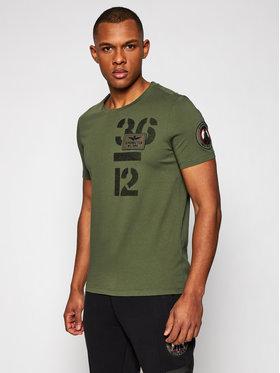 Aeronautica Militare Aeronautica Militare T-shirt 211TS1868J492 Verde Regular Fit