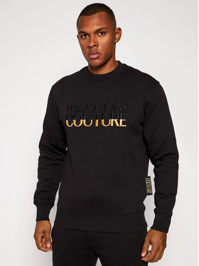 Versace Jeans Couture Versace Jeans Couture Sweatshirt B7GZB7TT Noir Regular Fit