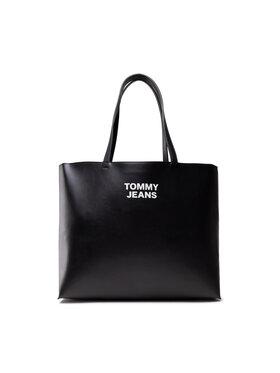 Tommy Jeans Tommy Jeans Torebka Tjw Essential Pu Tote AW0AW10153 Czarny