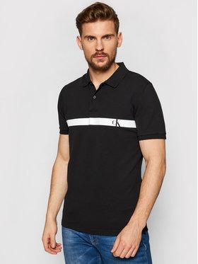Calvin Klein Jeans Calvin Klein Jeans Polokošeľa J30J317328 Čierna Slim Fit