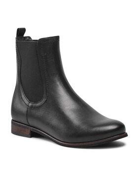 Wojas Wojas Členková obuv s elastickým prvkom 55060-51 Čierna