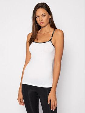 Dsquared2 Underwear Dsquared2 Underwear Top D8DA03190 Biały Slim Fit