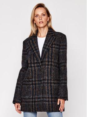 Victoria Victoria Beckham Victoria Victoria Beckham Vlněný kabát Jumbo Check 2420WCT001845A Barevná Regular Fit