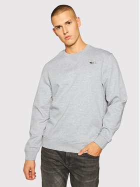 Lacoste Lacoste Bluza SH1505 Szary Loose Fit