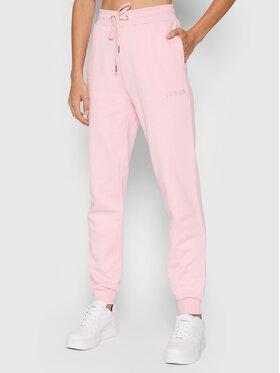 Guess Guess Spodnie dresowe Alene O1GA04 K68M1 Różowy Regular Fit