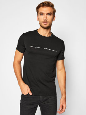 Emporio Armani Underwear Emporio Armani Underwear T-Shirt 110853 0A724 00020 Tmavomodrá Slim Fit