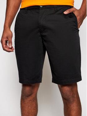 Armani Exchange Armani Exchange Bavlnené šortky 8NZS42 ZNMTZ 1200 Čierna Regular Fit