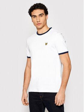 Lyle & Scott Lyle & Scott T-Shirt Ringer TS705V Weiß Regular Fit