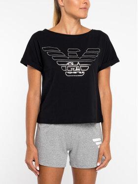 Emporio Armani Underwear Emporio Armani Underwear Tricou 164008 9P291 00020 Negru Regular Fit