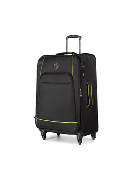 Puccini Puccini Valise textile taille moyenne Padwa EM50450B 1 Noir