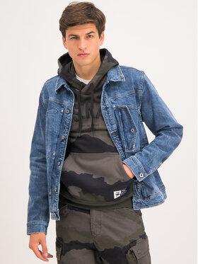 G-Star Raw G-Star Raw Farmer kabát Scutar D14499-A670-A572 Kék Slim Fit