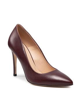 Solo Femme Solo Femme Pantofi cu toc subțire 34201-A8-M44/000-04-00 Vișiniu