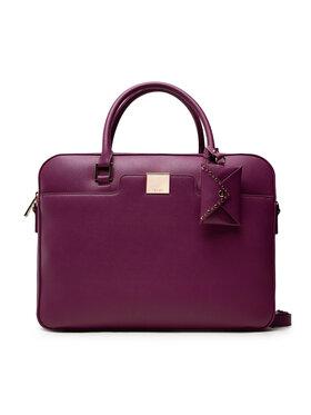Liu Jo Liu Jo Nešiojamo kompiuterio krepšys Ecs Briefcase NF1027 E0087 Violetinė