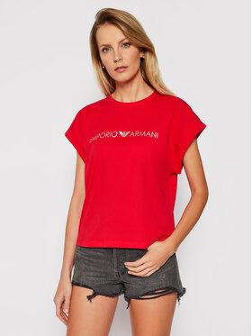 Emporio Armani Emporio Armani T-Shirt EMPORIO ARMANI 262633 1P340 33874 Czerwony Regular Fit
