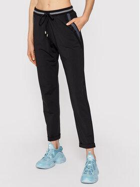 Liu Jo Sport Liu Jo Sport Текстилни панталони TF1145 J6242 Черен Regular Fit