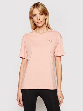 Fila Fila T-Shirt Jakena 683395 Πορτοκαλί Regular Fit
