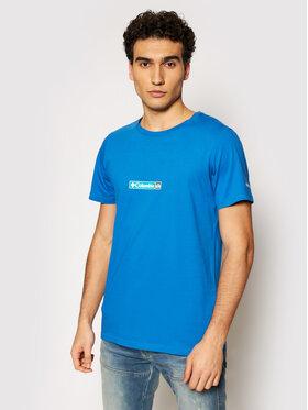 Columbia Columbia T-shirt Rapid Ridge 1934824 Plava Regular Fit