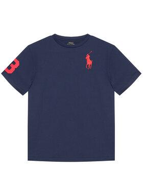 Polo Ralph Lauren Polo Ralph Lauren T-Shirt Ss Cn 323832907019 Granatowy Regular Fit