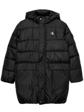 Calvin Klein Jeans Calvin Klein Jeans Пухено яке Essential IB0IB00558 Черен Regular Fit