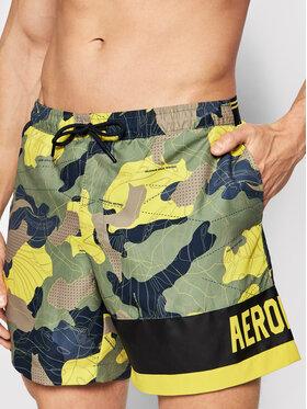 Aeronautica Militare Aeronautica Militare Pantaloncini da bagno 211BW196CT2811 Verde Regular Fit