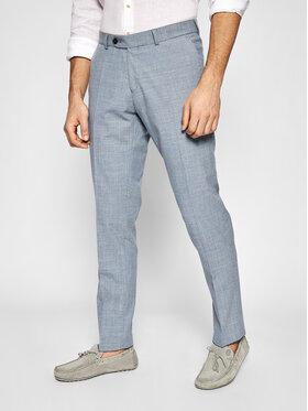 Carl Gross Carl Gross Spoločenské nohavice Cg Fox 139273-005 Sivá Sharp Fit