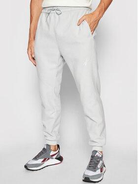 Reebok Reebok Spodnie dresowe Worout Fleece GS6654 Niebieski Relaxed Fit