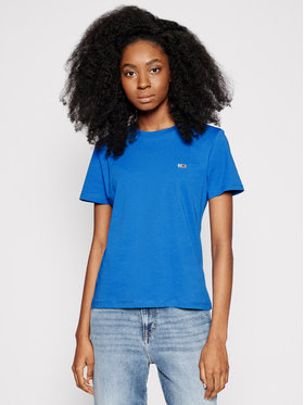 Tommy Jeans Tommy Jeans T-shirt Tjw Jersey C Neck DW0DW09198 Blu scuro Regular Fit