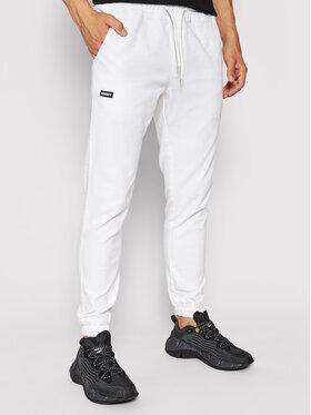 Diamante Wear Diamante Wear Joggers kalhoty Unisex Classic 4054 Bílá Regular Fit