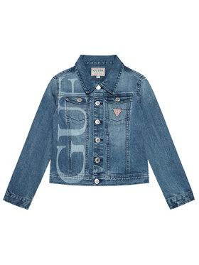 Guess Guess Kurtka jeansowa J1RL13 D4AY0 Niebieski Regular Fit