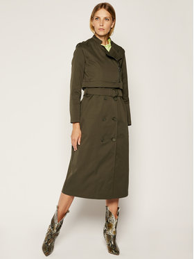 MAX&Co. MAX&Co. Trench Osteria 70240120 Zelena Regular Fit