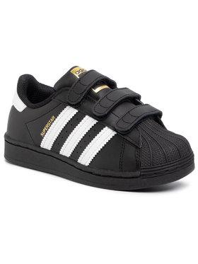 adidas adidas Schuhe Superstar Cf C EF4840 Schwarz