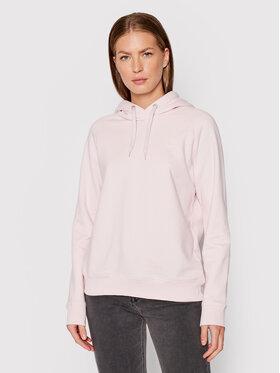 Lee Lee Світшот Hoodie L53WTXSU Рожевий Regular Fit