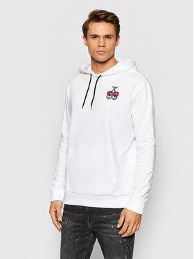 Hugo Hugo Sweatshirt Derpiente 50457110 Blanc Regular Fit