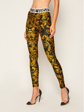 Versace Jeans Couture Versace Jeans Couture Colanți D5HZA161 Negru Slim Fit