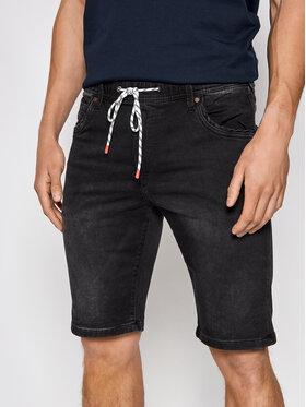 Pepe Jeans Pepe Jeans Bavlnené šortky GYMDIGO Jagger PM800840 Čierna Regular Fit
