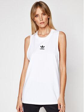 adidas adidas Top adicolor Classics GN2888 Blanc Loose Fit