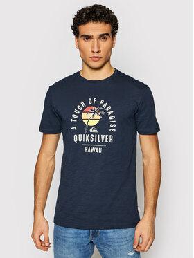 Quiksilver Quiksilver T-shirt Quiet Hour EQYZT06387 Blu scuro Regular Fit