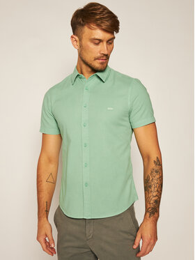 Levi's® Levi's® Koszula Battery 86623-0004 Zielony Slim Fit