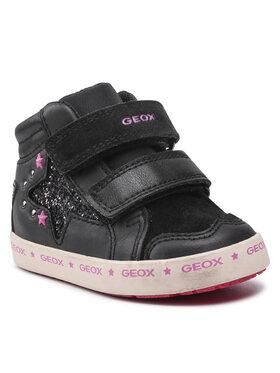 Geox Geox Tenisice B Kilwi G. A B16D5A 08554 C9999 M Crna