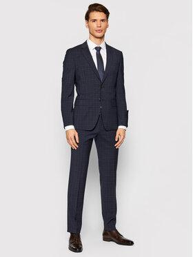 Boss Boss Garnitur P-Huge-214 50458941 Granatowy Slim Fit