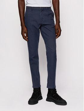 Boss Boss Spodnie materiałowe Schino-Modern 2 50436144 Granatowy Slim Fit