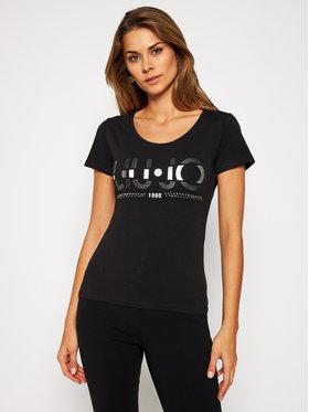 Liu Jo Liu Jo T-Shirt WF0087 J5003 Schwarz Regular Fit