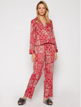 Lauren Ralph Lauren Lauren Ralph Lauren Pyžamo 2 Pc Garment ILN92023 Červená Regular Fit