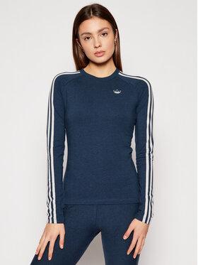 adidas adidas Palaidinė Fakten GN4381 Tamsiai mėlyna Slim Fit