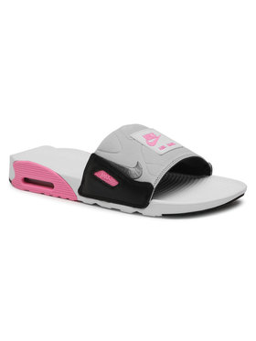 Nike Nike Παντόφλες Air Max 90 Slide BQ4635 100 Γκρι