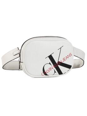 Calvin Klein Jeans Calvin Klein Jeans Τσαντάκι μέσης Round Waistbag K60K606853 Λευκό