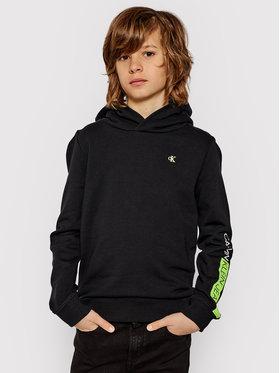Calvin Klein Jeans Calvin Klein Jeans Sweatshirt Logo Sleeve IB0IB00541 Noir Regular Fit