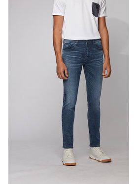 Boss Boss Jeansy Tapered Fit Taber Bc-P Sway 50433145 Tamsiai mėlyna Tapered Fit